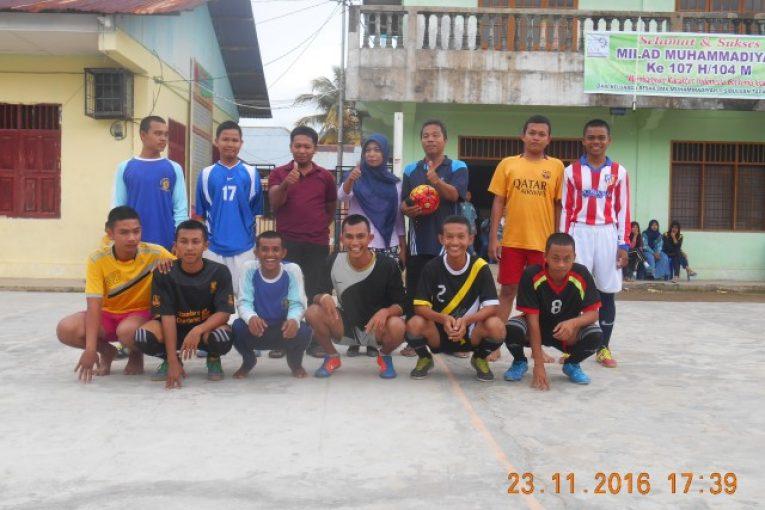 Perayaan HGN 2016 – Perlombaan Futsal