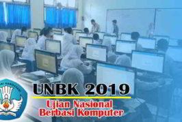 Pelaksanaan UNBK SMK Muhammadiyah 11 Sibuluan T.P. 2018/2019
